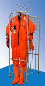 Global Tech Survival Suits mobile drying system