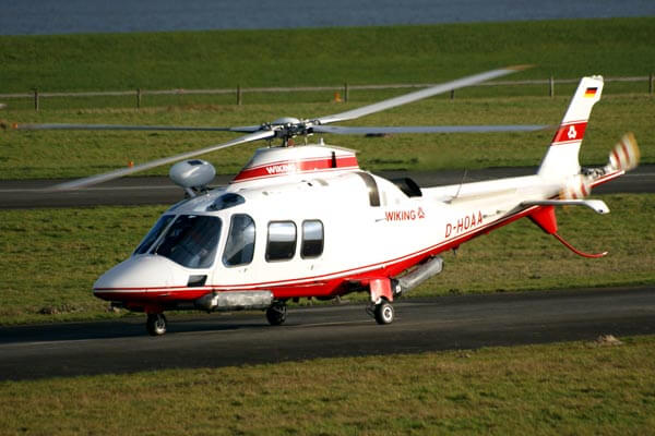 Wiking Helicopter drying system