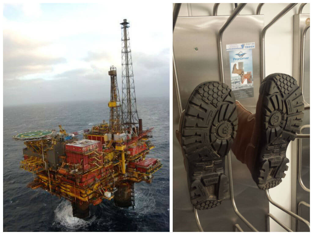 Shell UK Brent Delta platform drying systems