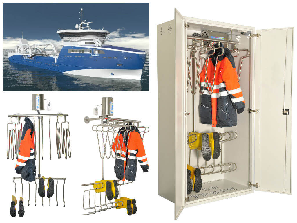 Sefine Shipyard Fish Carrier Vessel drying systems