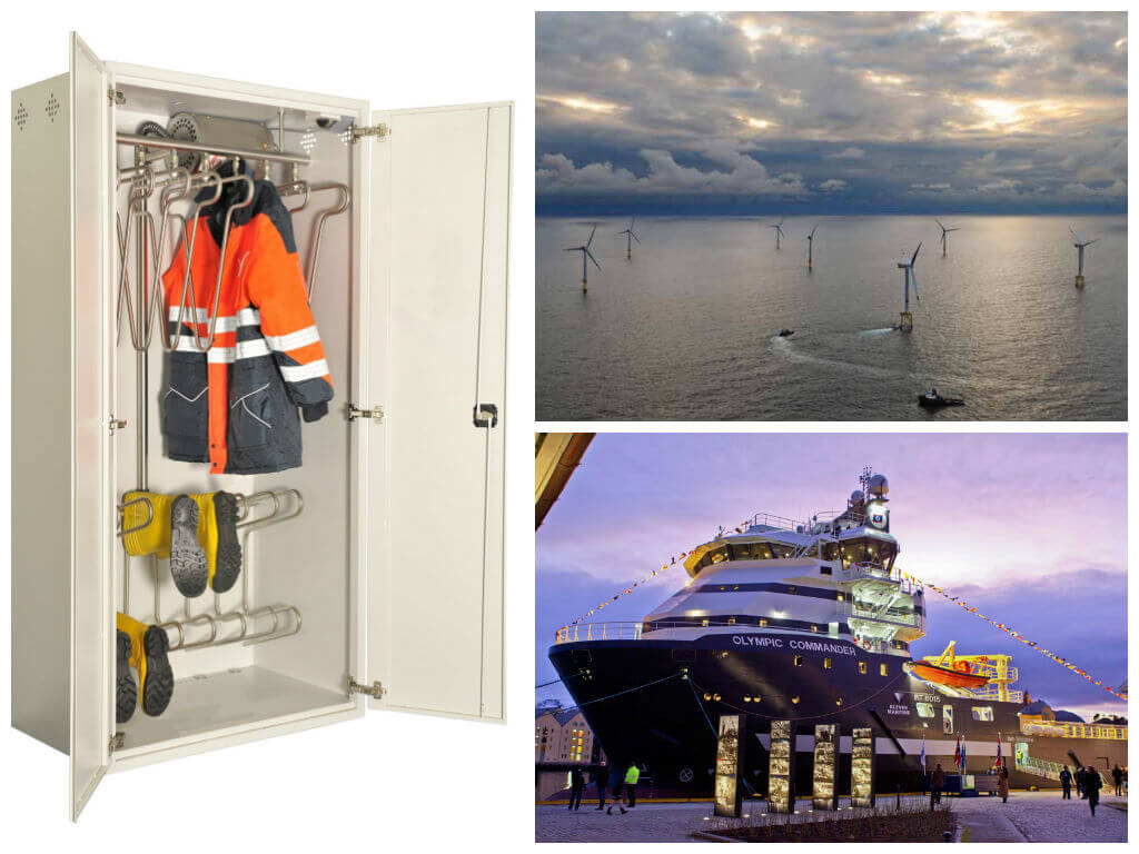 Siem Offshore Contractors Olympic Commander drying system