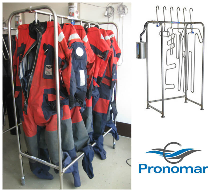 Global Marine Safety Service Center drying system
