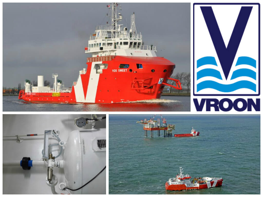 Vroon Offshore Services VOS Sweet Merus rings