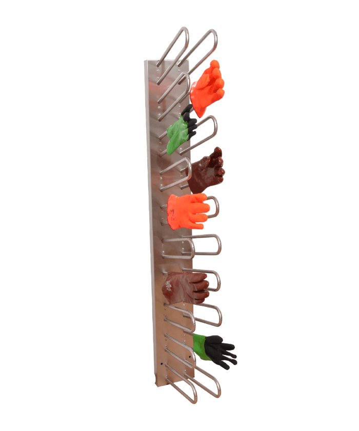 wall-mounted dryer for work gloves