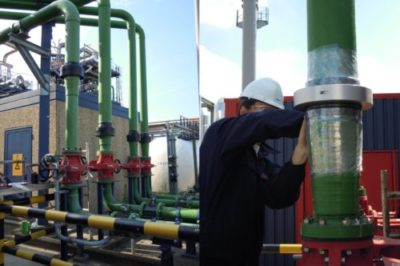 water treatment Merus rings for Odfjell refineries and industries