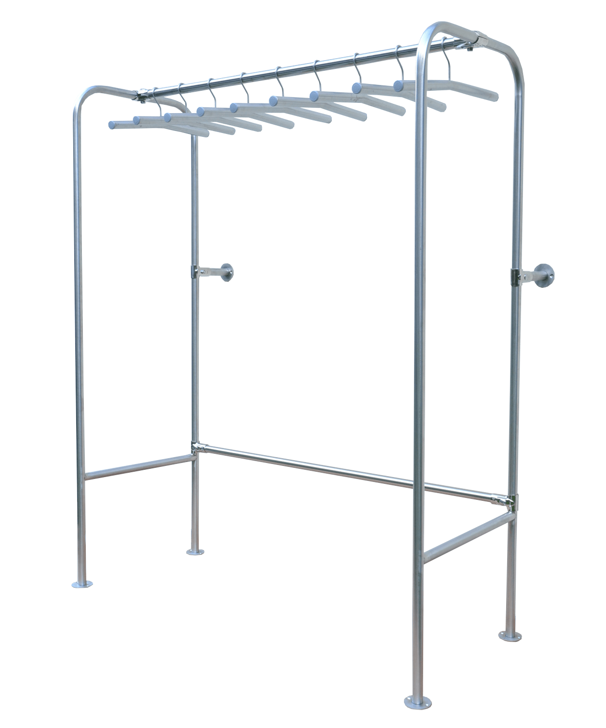 professional storage rack for jackets and suits