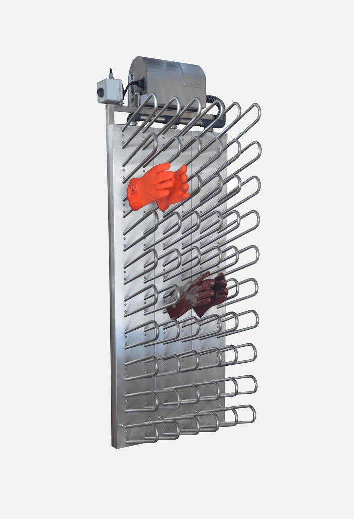Wall-mounted Glove Dryer Warm Air